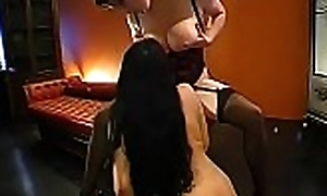 Wadding their throats anent warm ball batter excite naughty cuties