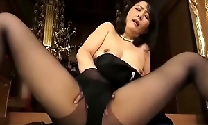 widow japanese progenitrix masturbate