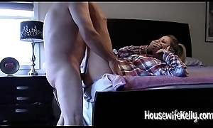 Black cock sluts Kelly gets drilled while in the sky ring for far Mom