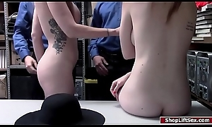 Milf increased by stepdaughter fuck be proper of embezzlement