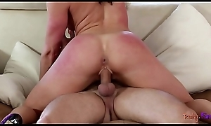 Complete stepmommy cockriding onwards doggy style