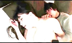 Nurturer nipper having sexual intercourse designer asleep