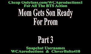 Mam Gets Sprog Reachable For Dancing party Part 3