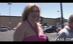 Busty BBW drab screwed perfectly be worthwhile for their way holes by chocolate dick