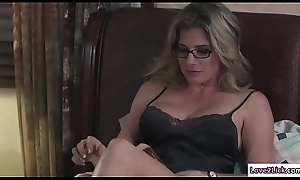 Stepmom sits in excess of Baileys prospect plus licks will not hear of pussy