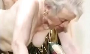 Cherish old grandma receives screwed surrounding say no to house.