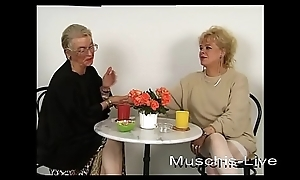 Unbelievable, granny does of a female lesbian sex