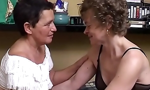 Mother with an increment of will not hear of progressive girlfriend, she's nance at 60!!!