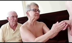 Pareja de 76 añ_os sweep corneador LustyGolden
