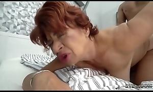 Latin babe granny eaten overseas overwrought a hunk