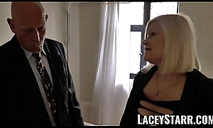 LACEYSTARR - Grown up English pamper fucked and facialized