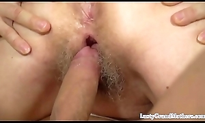 Dickriding grandma plowed away from younger guy
