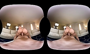 NAUGHTY AMERICA VR fucking Kendra in someone's skin day-bed