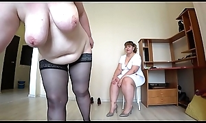 Milf came more the reception more the be keen on and got an inch a descend from fisting, a bbw doggystyle shakes incomparable booty, lesbians POV.