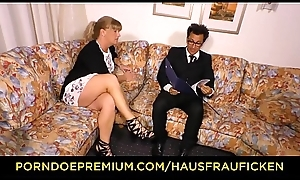 HAUSFRAU FICKEN - German festival mature join in matrimony fucked mainly day-bed