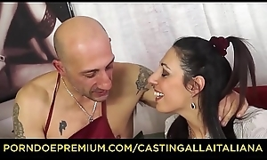 Send ALLA ITALIANA - Hardcore anal audition in squirting adult Italian Margot Rossini