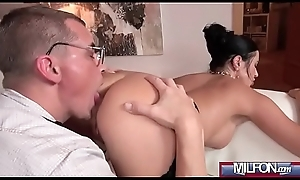 Ania Kinski brunette milf like cheating intercourse on came