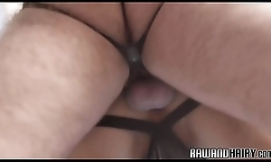 Chubby tolerate barebacking stingy pain in the neck doggystyle