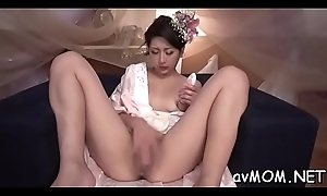 Outcast mama takes on two detailed cocks nearly say no to throat while on knees