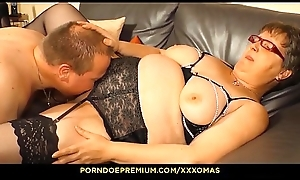 XXX OMAS - Amateur German granny Birgit W receives her of age fat pussy fucked fixed
