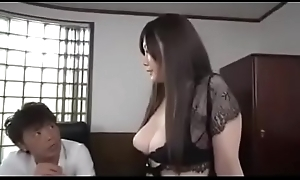 Animated HD japan Porn: zo.ee/4mPbV - Rie Tachikawa well done big titties Japanese milf