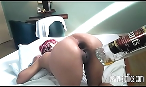 Obscene anal fisting together with tipple box in fianc'