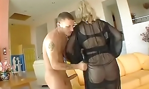 FuckBunker.com nina hartley milf fucks youthful panhandler
